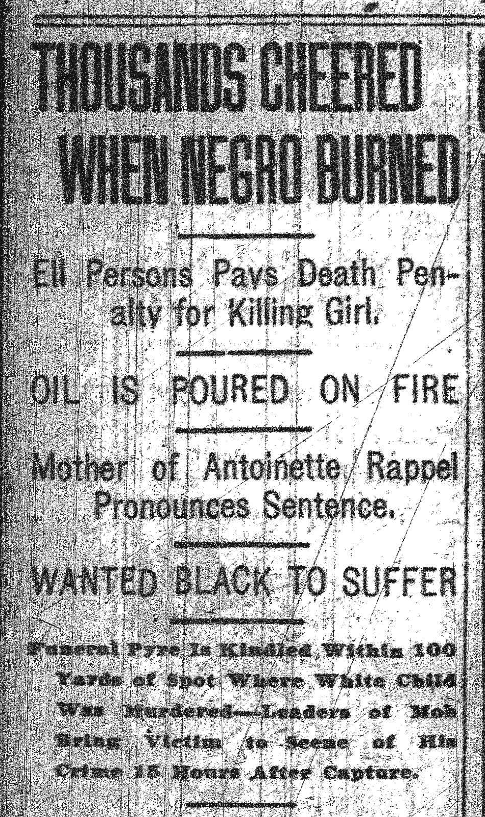 Commercial Appeal, 5/23/1917