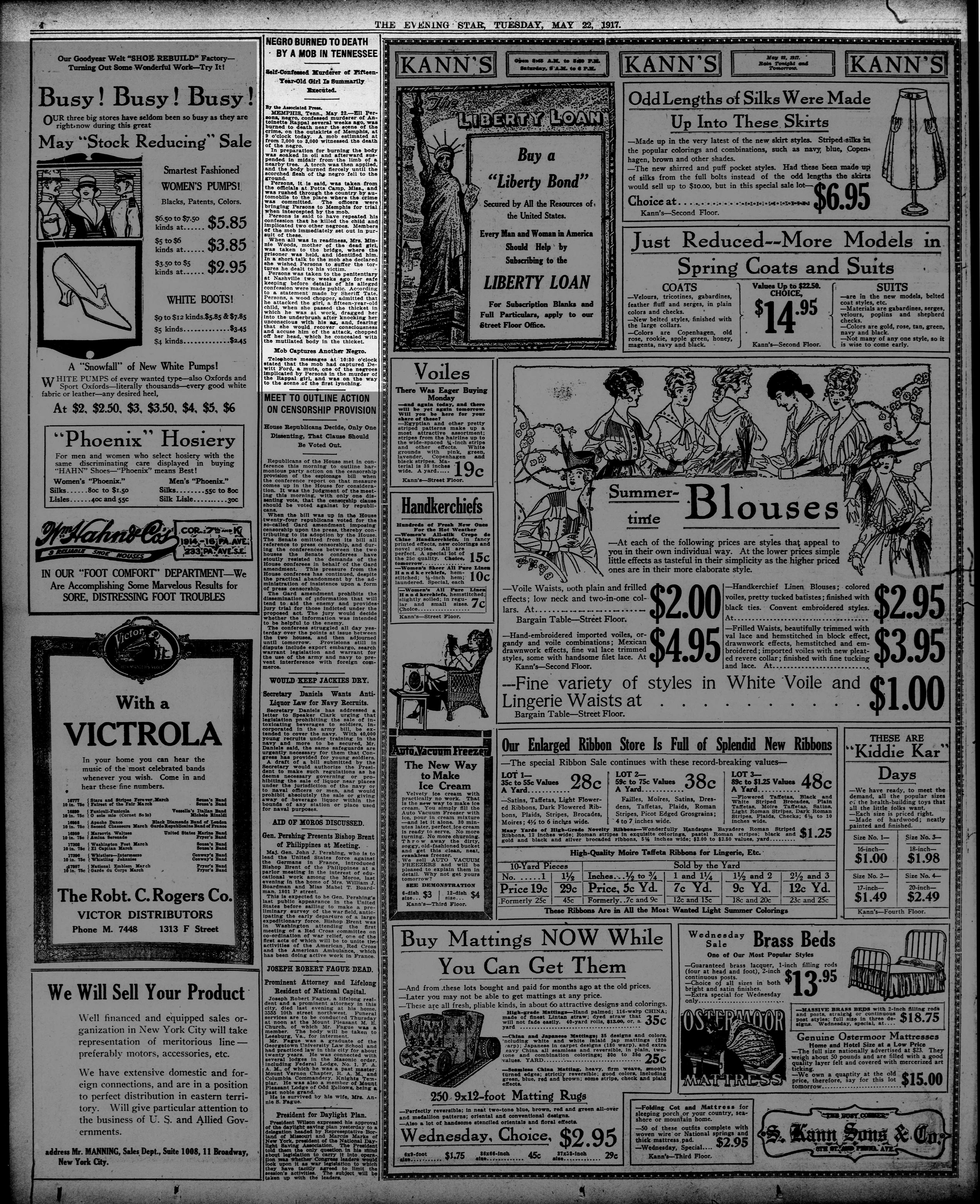 Evening Star, 5/22/1917
