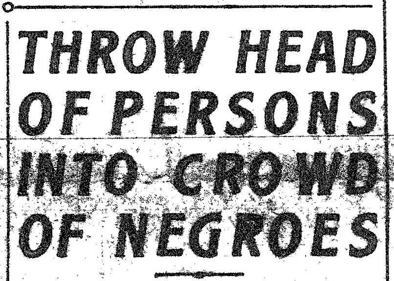 News Scimitar, 5/22/1917 (Lynch bulletins)