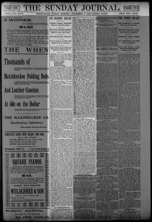 Indianapolis Journal, 9/2/1894