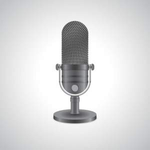 Microphone image designed by Freepik